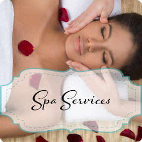 Spa Services: image of woman getting a massage